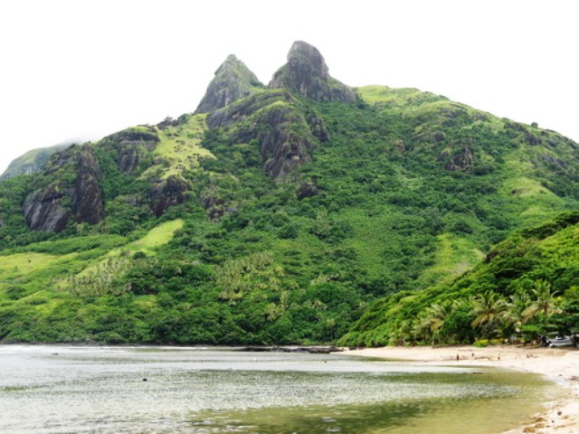 tomanivi, fiji, mountain