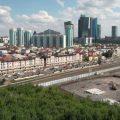 skyline, kazakhstan, weather
