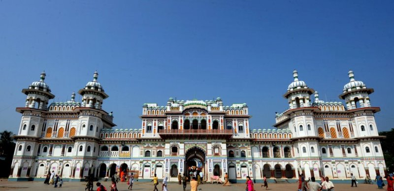 janaki temple, nepal, kathmandu
