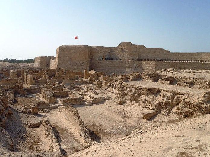 bahrain, fort, qal'at al