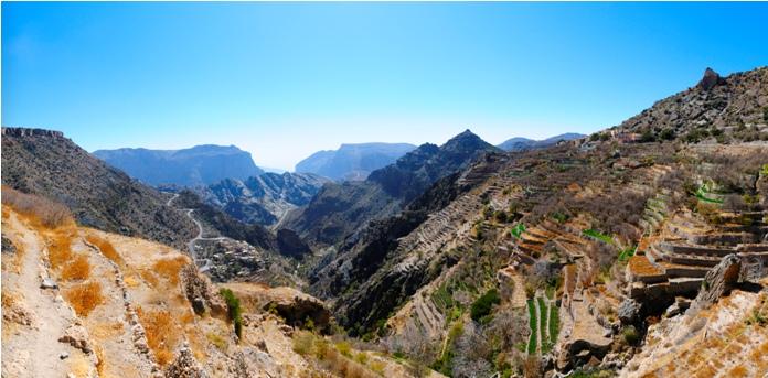 mountain, oman, attraction jebel akhdar