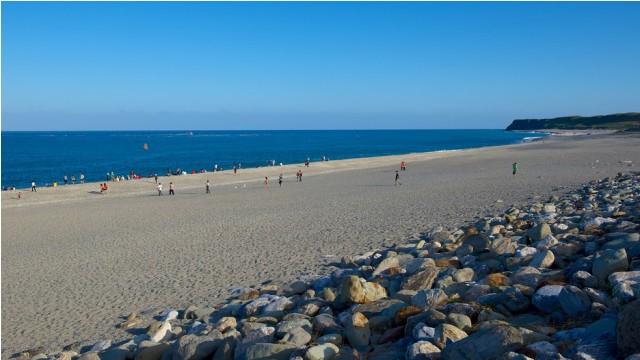 chishingtan beach, taiwan, hualien