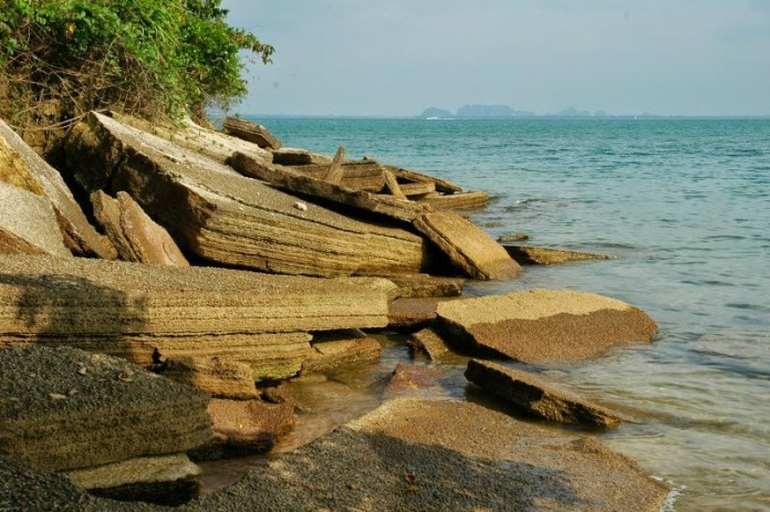 shell cemetery, krabi, thailand