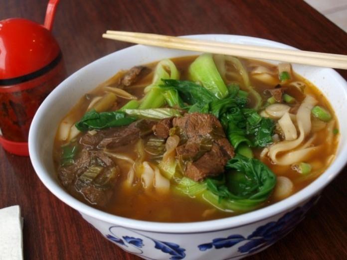 egg noodle soup, nantou, taiwan