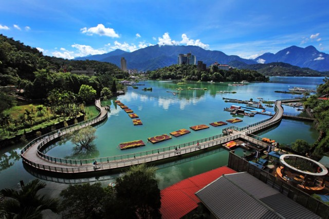 sun moon lake, taiwan, nantou