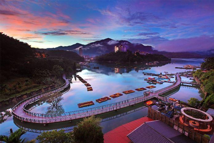 sun moon lake, taiwan, nantou
