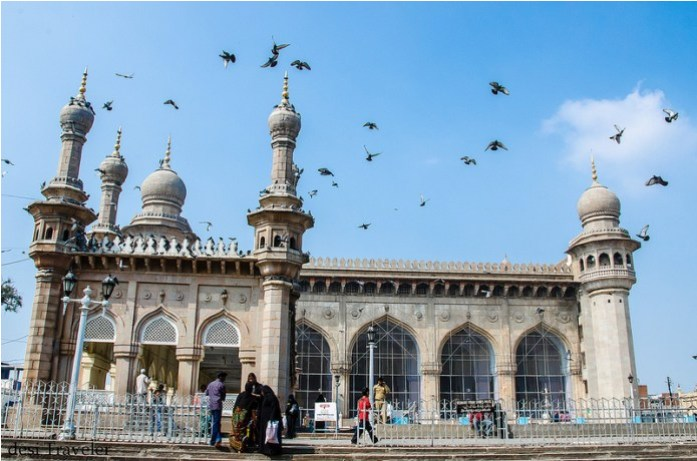 mecca masjid, india, hyderabad