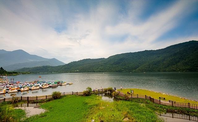 carp lake, taiwan, hualien
