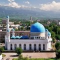 central mosque, almaty, kazakhstan