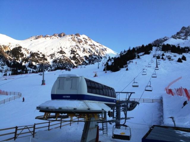 ski resort, chimbulak, kazakhstan