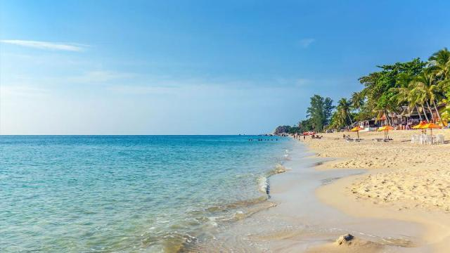 lamai beach, samui, thailand,