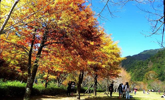 aowanda area, nantou, taiwan