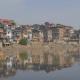 jhelum river, srinagar, india