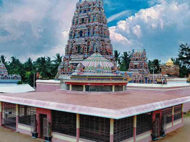 sri rajarajeshwari temple, india, bangalore