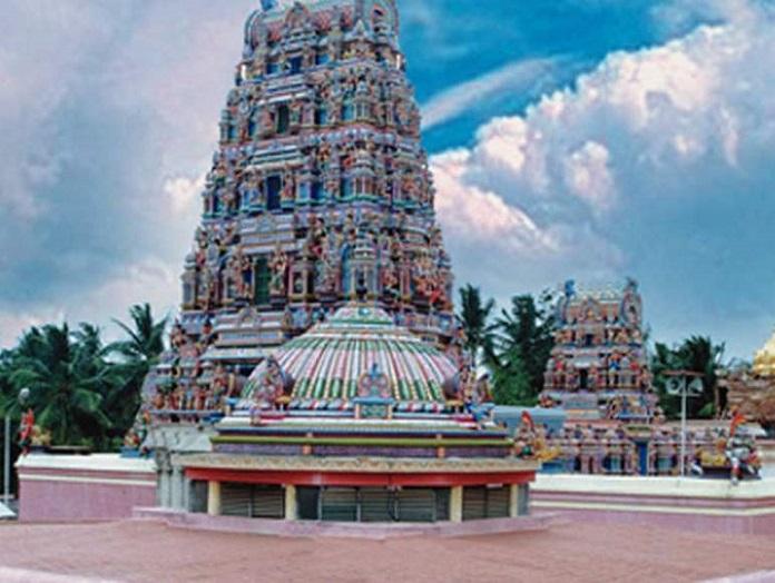 sri rajarajeshwari temple, india, bangalore