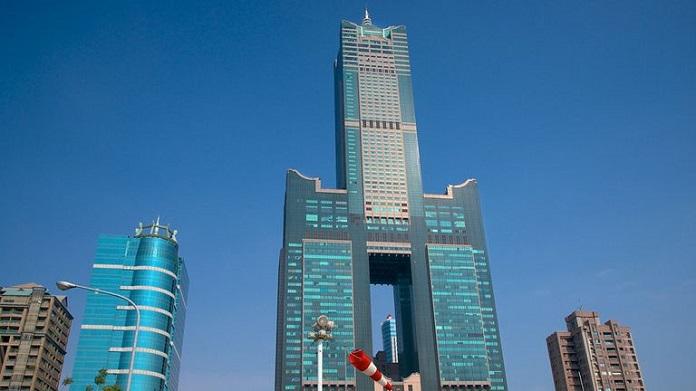 tuntex sky tower, kaohsiung,taiwan
