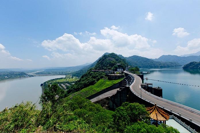 shimen reservoir, taoyuan, tw