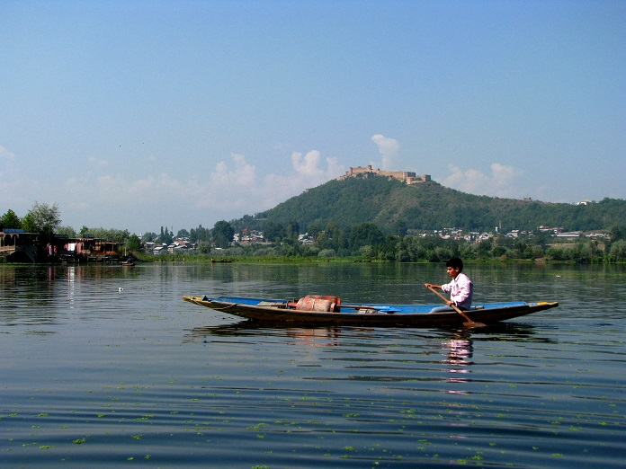 nagin lake, srinagar, india