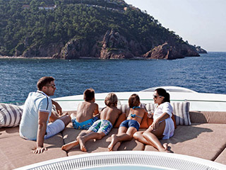 Famaily Luxury Yacht Charter Croatia with Croatia Concierge Cusmanich