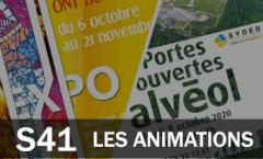 Les animations du 5 au 11 octobre