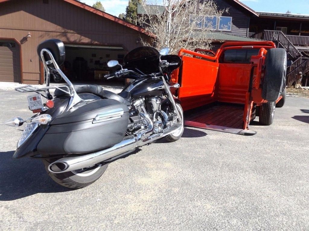 1998 Dodge Ram 2500 Custom Motorcycle Hauler For Sale