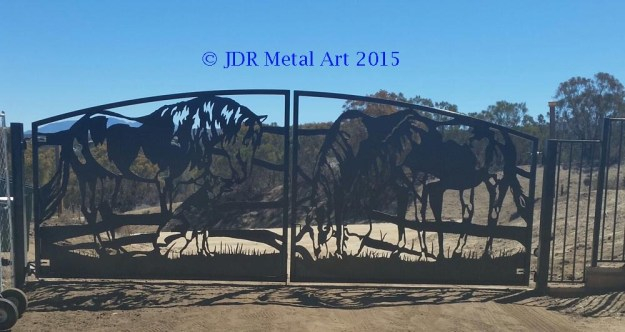 Horse Themed Gate Designs