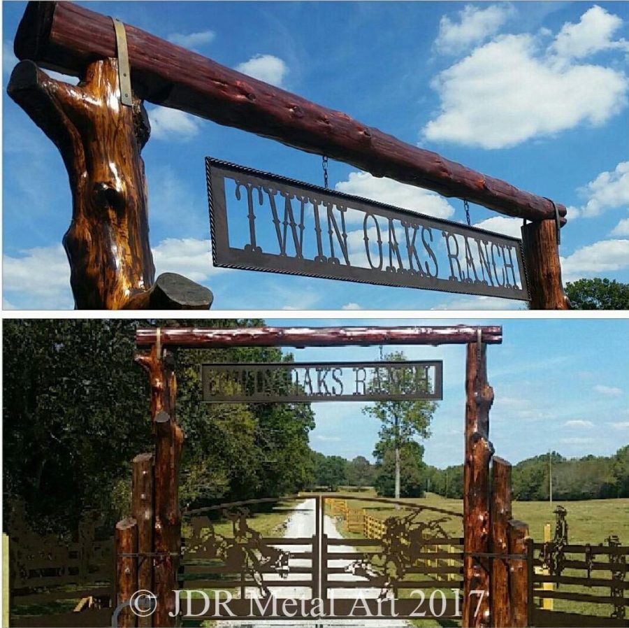 Custom Driveway Gates By Jdr Metal Art 800 805 8254