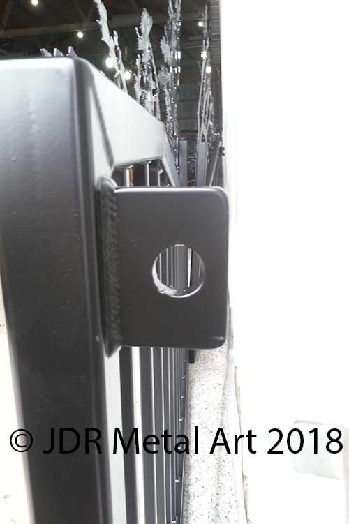 Driveway Gate Hinges Custom Driveway Gates Jdr Metal Art