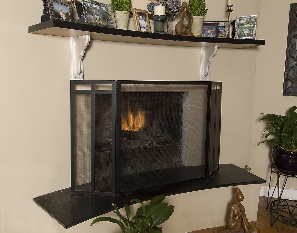 Fireplace Screen Art Deco On Custom Fireplace Quality