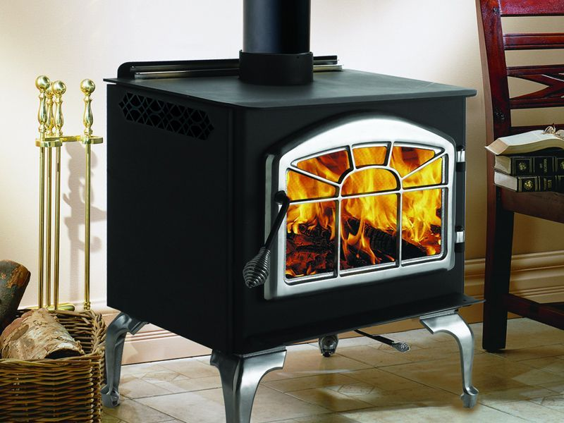 Fisher Wood Stove On Custom Fireplace Quality Electric