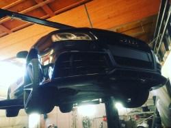 Audi RS5 puskuri