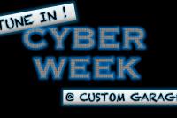 Custom Garage ti-hallin Cyber Week tarjous