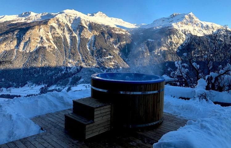 bains nordiques bois en kit custom house
