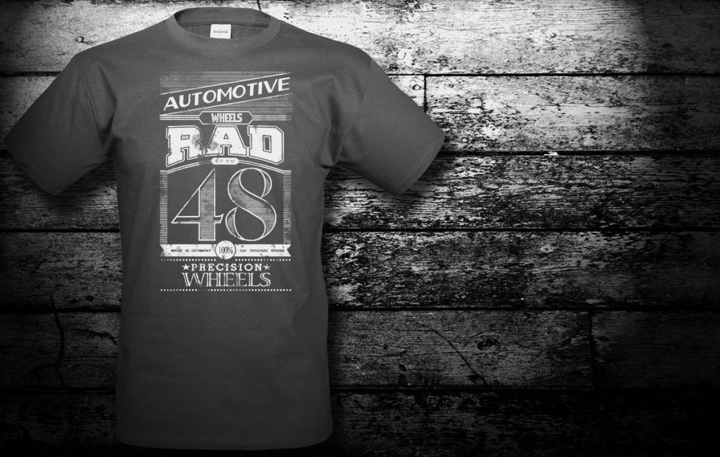 Grafikdesign für RAD 48