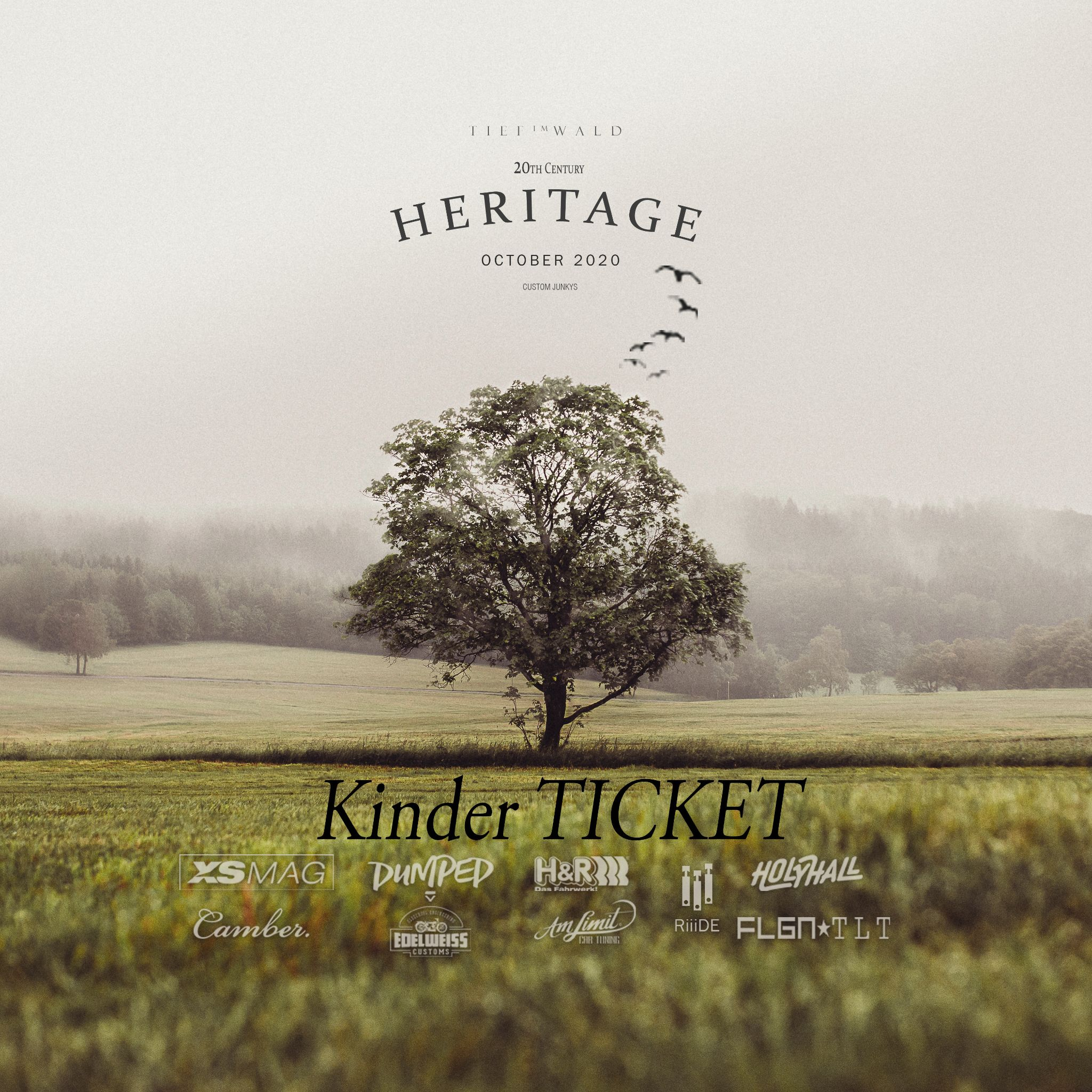 Heritage Tief im Wald