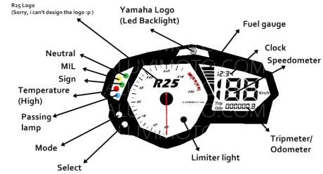 YAMAHA YZF R25 morespyshot 03