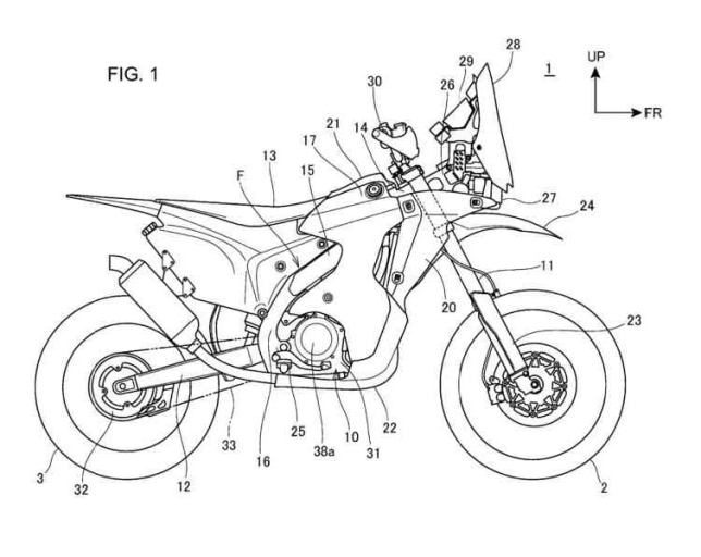 CRF250 RALLY Patent 01