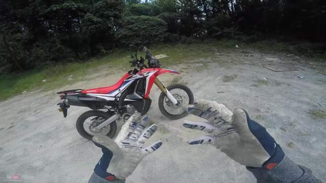 CRF250RALLY Detail 02