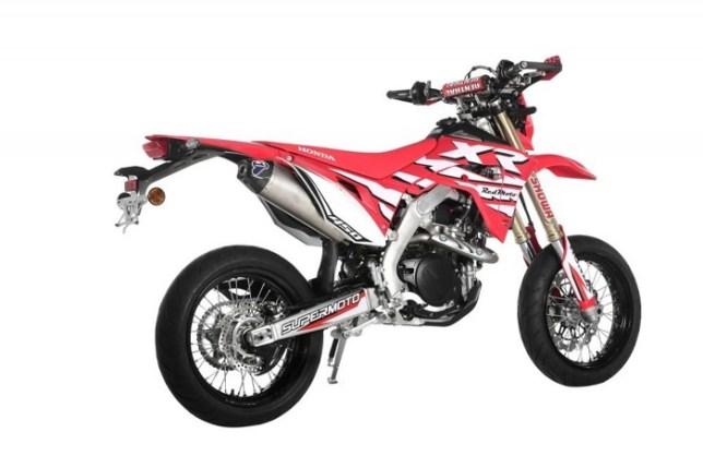 CRF450XR Supermoto 01