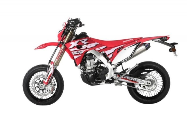CRF450XR Supermoto 05
