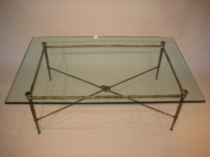 Diego Giacometti Coffee Table in Bronze