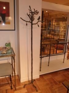 Diego Giacometti Bronze Coat Rack