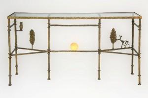 Diego Giacometti Cypress Tree Console Bronze