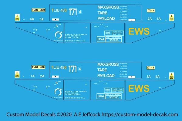 0 Gauge BVA EWS steel carrier
