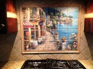 kitchen backsplash tile mural ideas