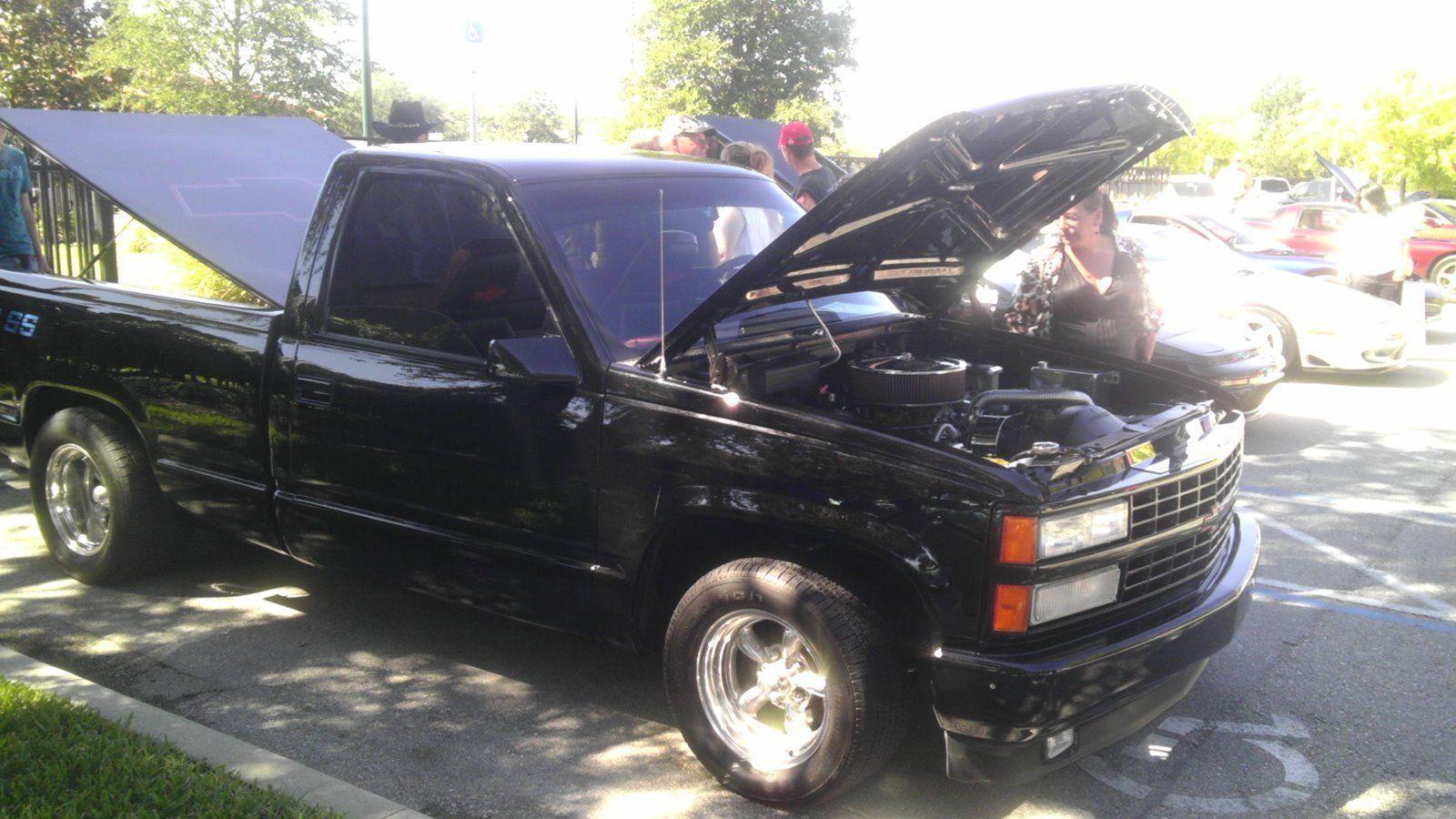 Chevy C1500 Pickup Truck Custom Black