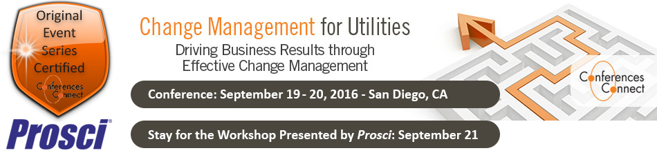 Change Management for Utilities WEST
