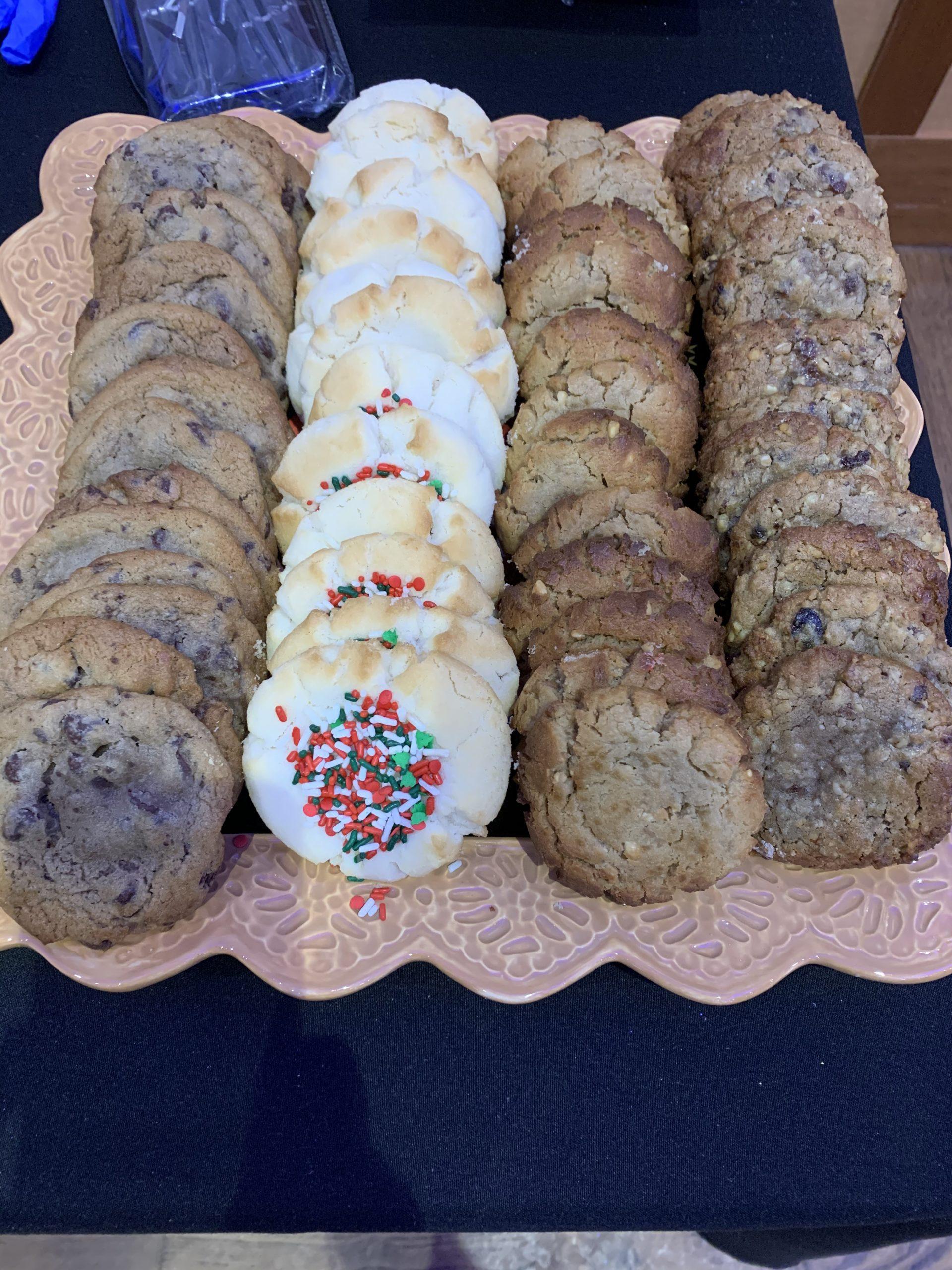 Malaga Christmas Event Cookies