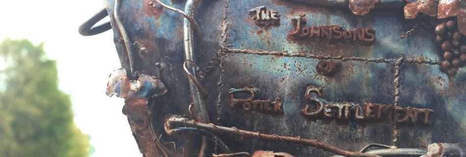 """2007 - I call it 'mailbox' 8""""x12""""x18""""x36"""" - steel"""