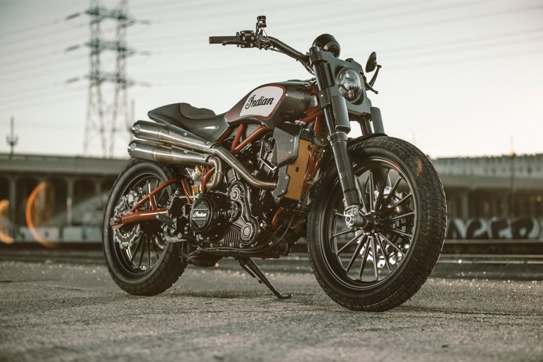 Indian Scout FTR1200 Custom Flat Tracker